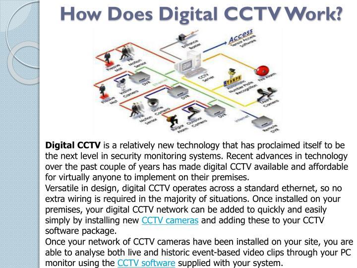 How Does Digital CCTV Work?