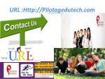 url http pilotagedutech com