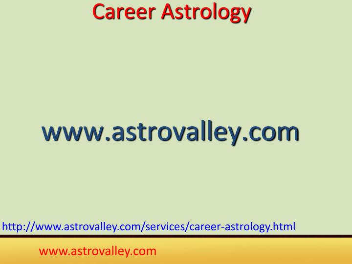 Career Astrology