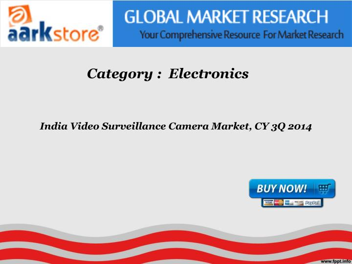 India video surveillance camera market cy 3q 2014