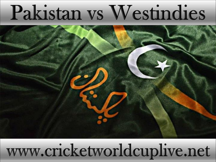 Pakistan vs Westindies