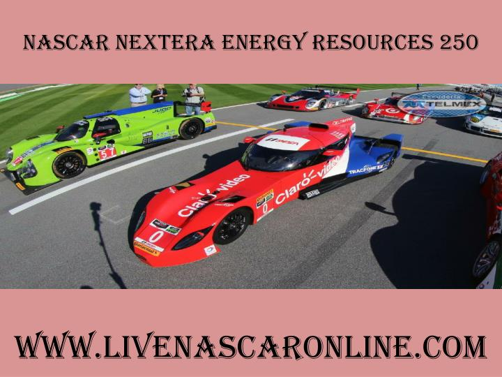 Nascar nextera energy resources 250