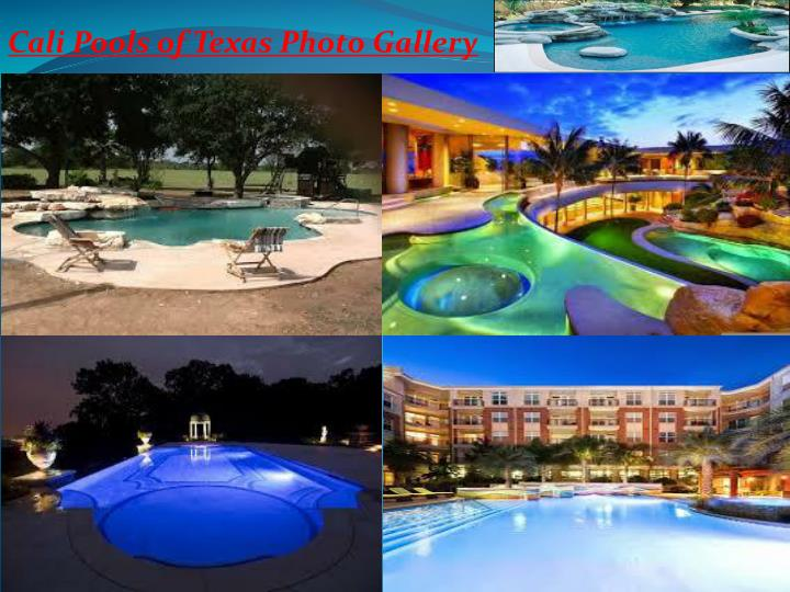 Ppt Custom Pools Remodeling And Spa Builder Houston Tx