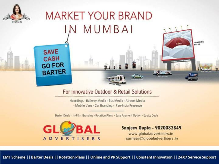 Premium billboards ads in mumbai global advertisers