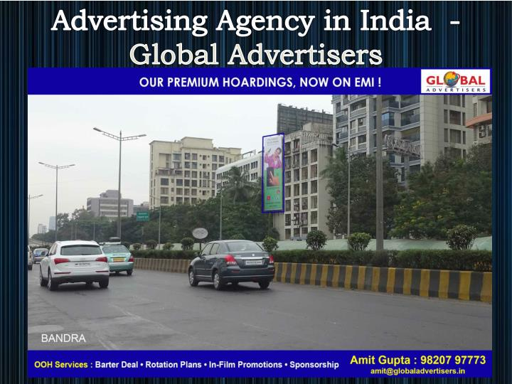 Advertising Agency in India  -