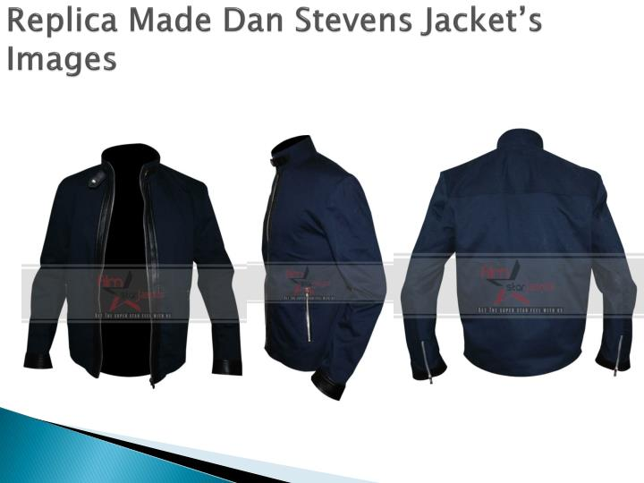 Replica Made Dan Stevens Jacket's Images