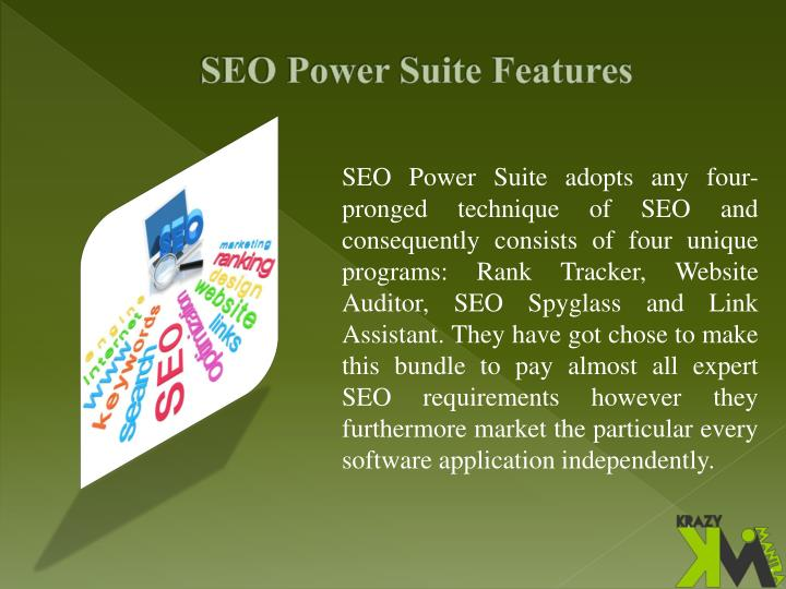 Seo power suite features