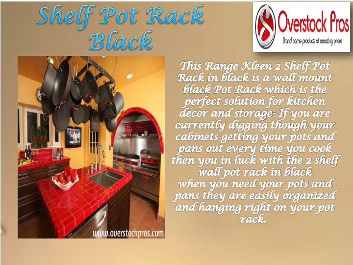 Shelf Pot Rack