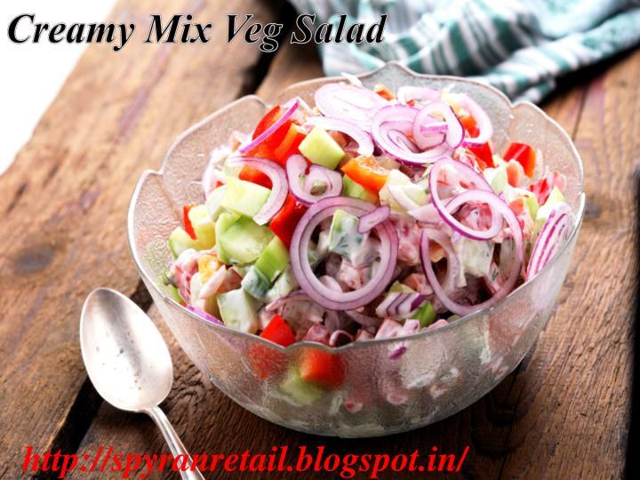 Creamy Mix Veg Salad