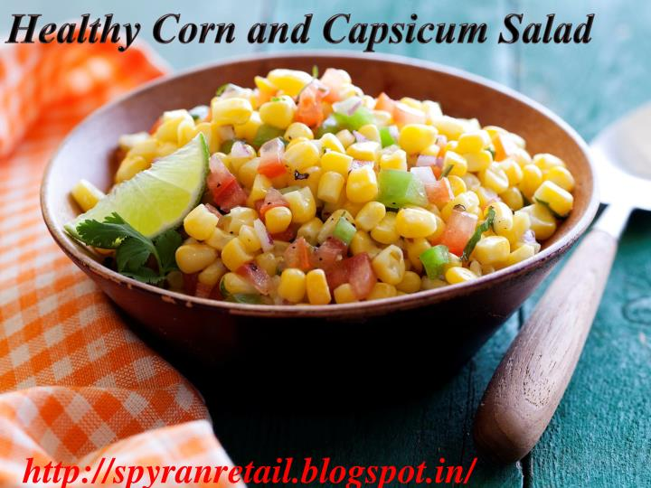Healthy Corn and Capsicum Salad