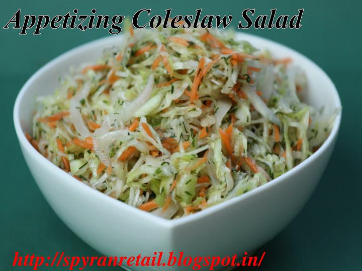 Appetizing Coleslaw Salad