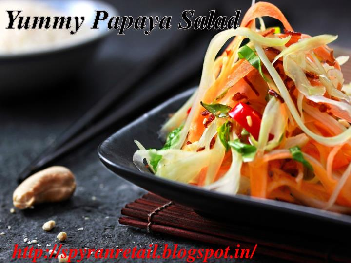 Yummy Papaya Salad