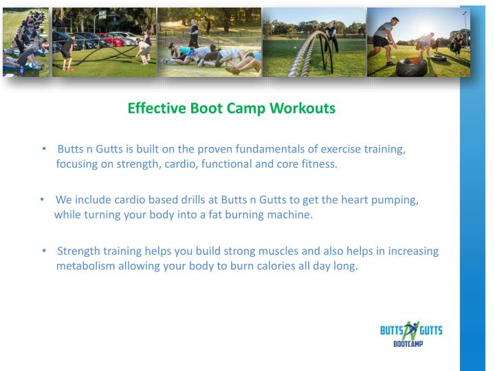 Effective Boot Camp Workouts
