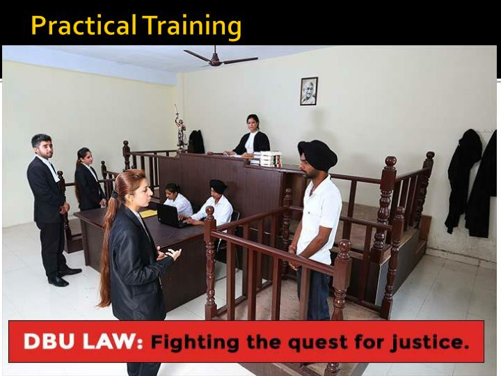 Practical Training