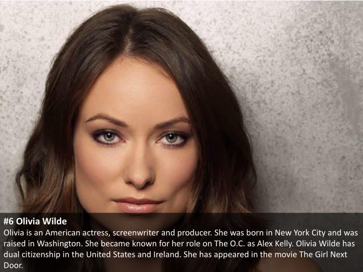 #6 Olivia Wilde