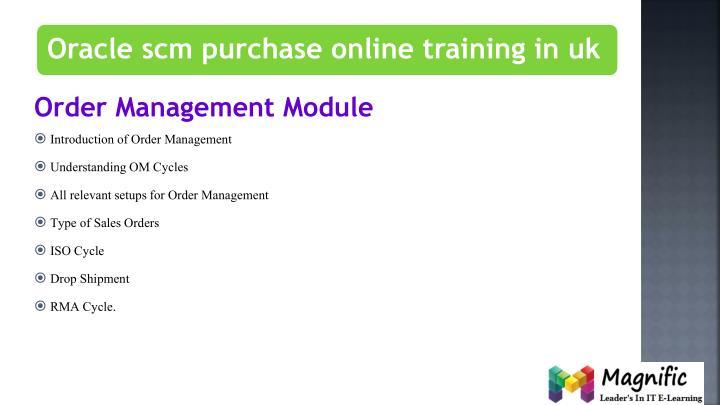 Order Management Module