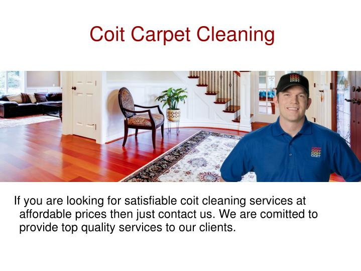 Coit Carpet Cleaning