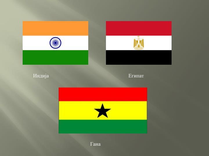 Индија                                                             Египат