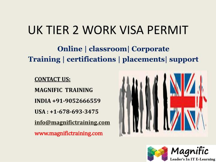 Uk tier 2 work visa permit