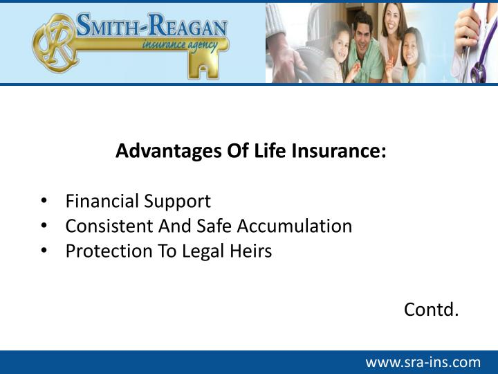 Advantages Of Life Insurance: