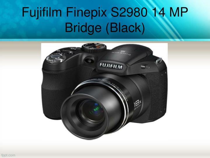 Fujifilm Finepix S2980 14 MP Bridge (Black)
