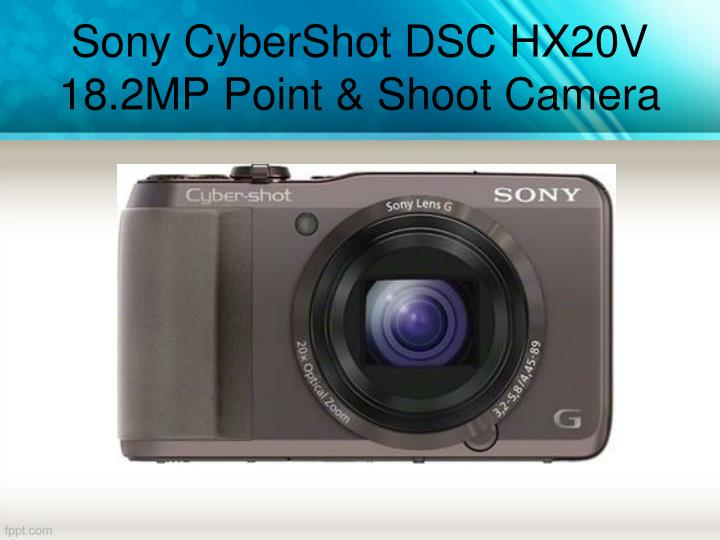 Sony CyberShot DSC HX20V 18.2MP Point & Shoot Camera