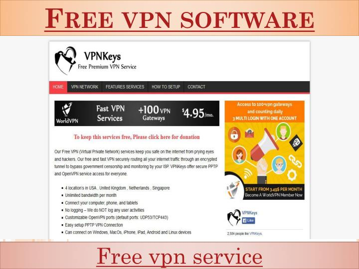 Free vpn software