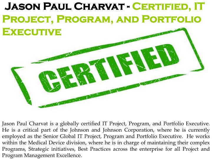 Jason Paul Charvat -