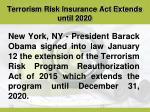 terrorism risk insurance act extends until 20201