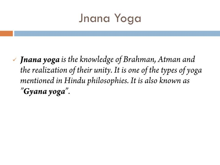 Similiar Types Of Karma Jnana Yoga Keywords