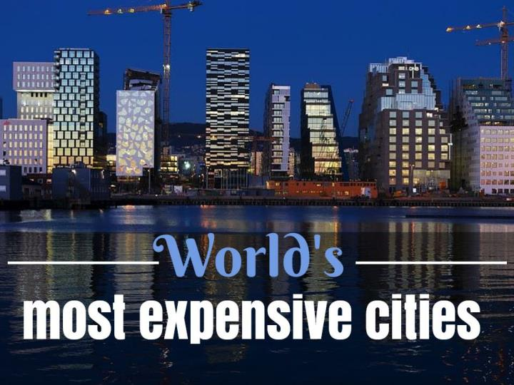 World s most expensive cities