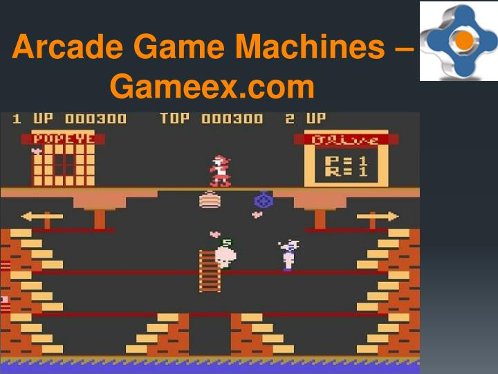 Arcade game machines gameex com