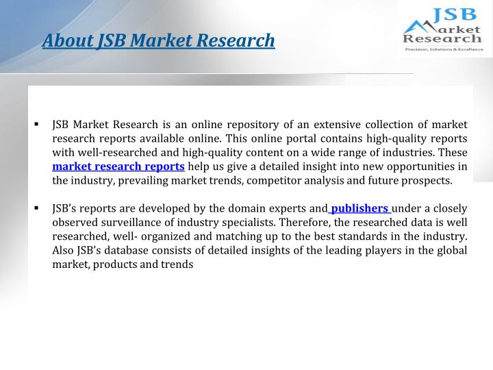 About JSB Market Research