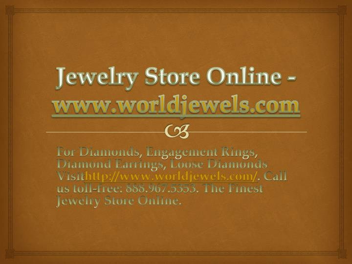 Jewelry Store Online -