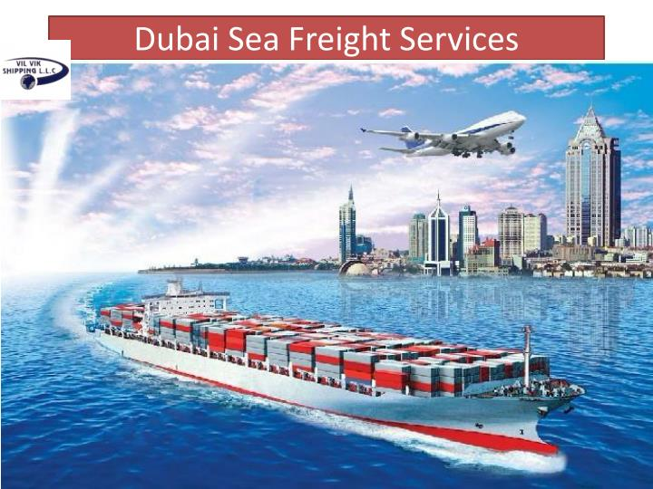 Dubai Sea Freight Services