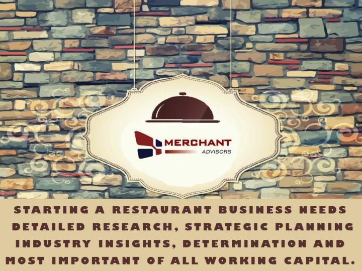 Restaurant financing options for small businesses