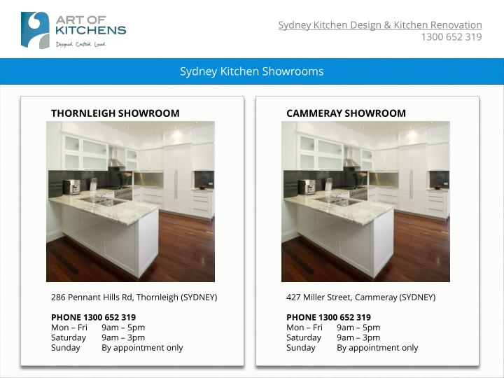 Sydney Kitchen Showrooms