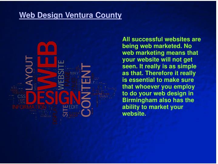 Web Design Ventura County