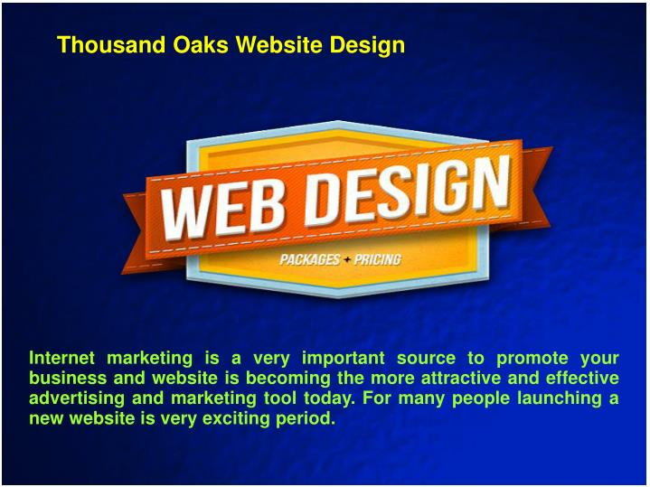 Thousand Oaks Website Design