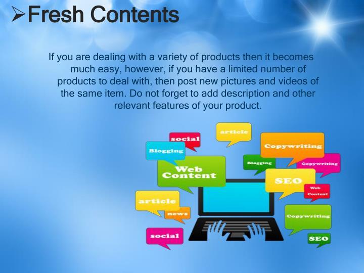 Fresh Contents