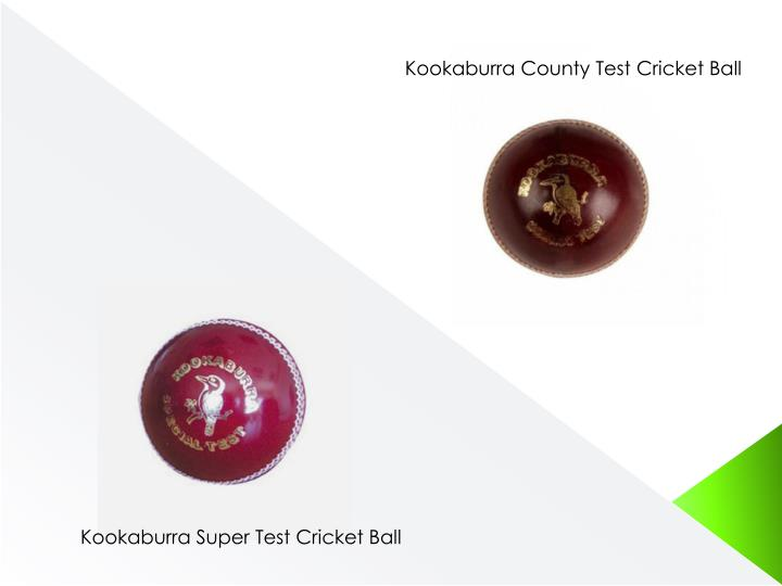 Kookaburra County Test Cricket Ball