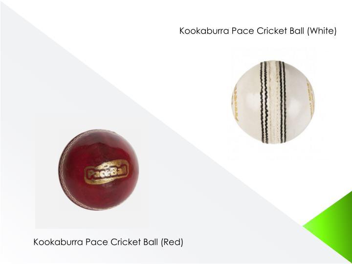 Kookaburra Pace Cricket Ball (White)