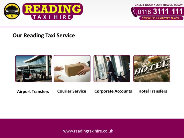 Our Reading Taxi Service