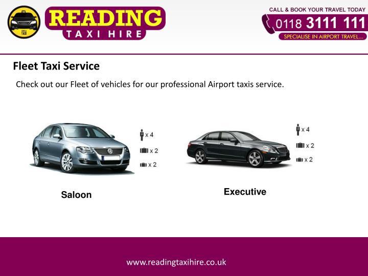 Fleet Taxi Service