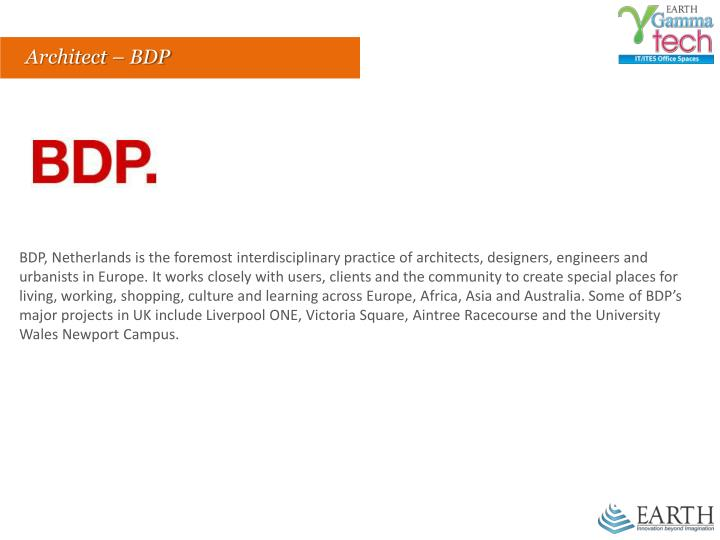 Architect – BDP