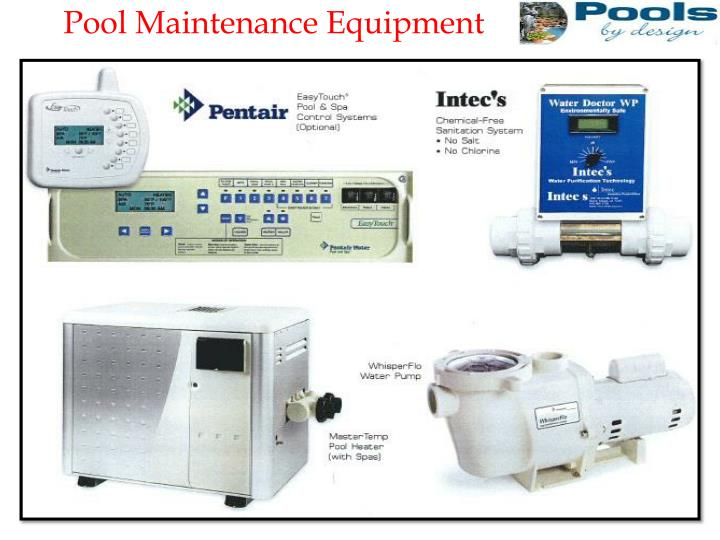 Pool Maintenance Equipment
