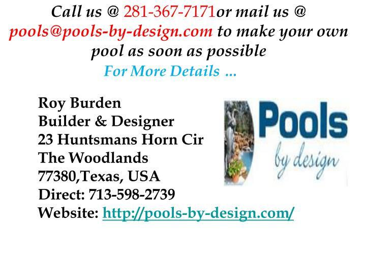 Call us @