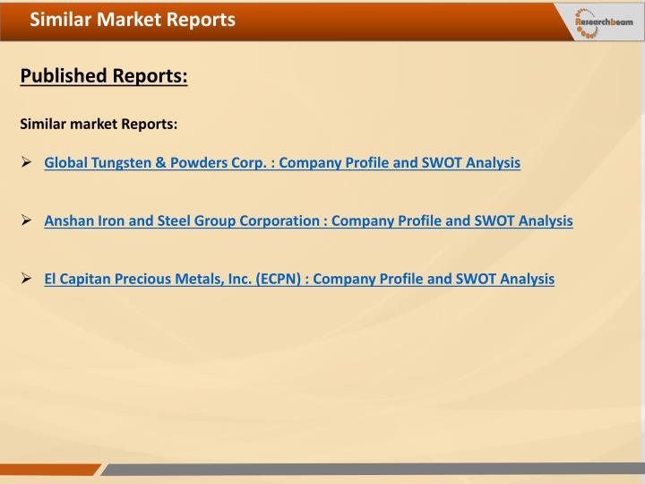 Similar Market Reports