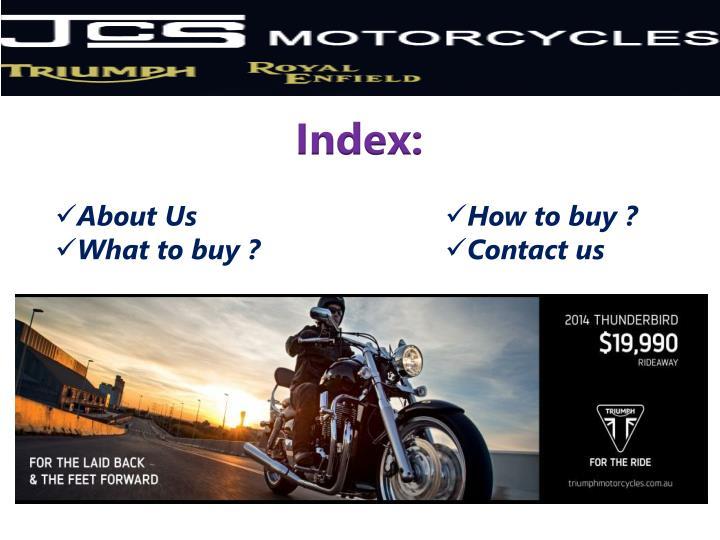 Index: