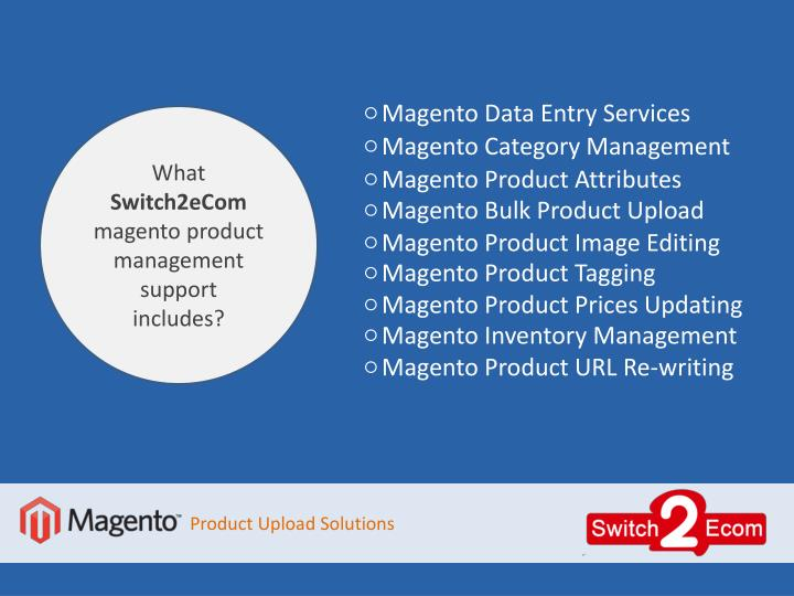 Magento Data Entry Services
